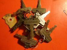 Vintage Kawasaki OEM Factory Pre Cut Motorcycle Key #446