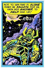 GALACTUS THIRD EYE PRINT Marvelmania Fantastic Four