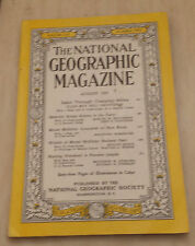 National Geographic - August 1953 - Safari Through Changing Africa