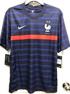 NWT $165 Nike France FFF VaporKnit Home Jersey 2020-2021 CD0586-498 Men's Size M