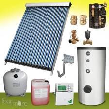 SPA 24 Solaranlage speicher 300 Liter komplettpaket vakuum röhrenkollektor Solar