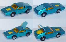Matchbox  65 Saab Sonnet, blaumetallic, zu öffnende Heckklappe, Matchbox Series