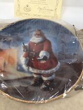 Duncan Royale Soda Santa Portraits of Santa Plate Full Size Plate New in Box