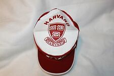 Harvard Crimson Hat NCAA Painters Cap Vintage New Old Stock