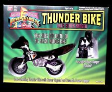 Power Rangers Thunder Bike Zack the Black  Ranger Bandai Morphin Factory Sealed