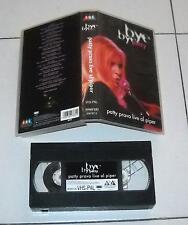 Vhs PATTY PRAVO Bye bye Patty LIVE AL PIPER – Ottimo 1997