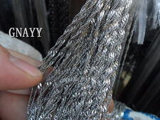 GNAYY 5meter Lot stainless steel Fashion Water wave chain Jewelry Finding 3mm
