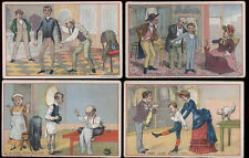 4 DENVER CO TRADE CARDS, COMMONWEALTH CLOTHING HOUSE, 438 LARIMER, *SALE* TC123