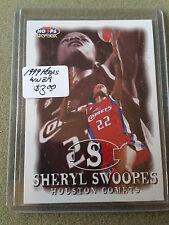 1999 Hoops WNBA #40 Sheryl Swoopes