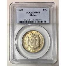 1920 Maine Half Dollar PCGS MS64 ***Rev. Tye's Stache***  #1004159