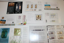 Lot of 10 Sample Packets Foundation Fx Tata Harper Clinique Foundation Make Up