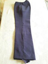 N04 PANTALON DE SKI FUSEAU femme VIOLET T38 VINTAGE 70 Purple ski pants siz S