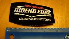 B HARLEY-DAVIDSON Harley Vest Jacket patch Rider's edge academy of motorcycling