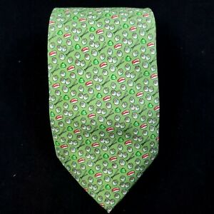 Vineyard Vines Sushi and Hot Dogs Pattern 100% Silk Tie $85 Made in USA