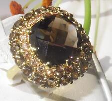 Gelbgold beschichtete Modeschmuck-Ringe im Statement-Stil