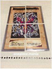 Yu-gi-oh! Bandai Jumbo Blue-eyes Ultimate Dragon Full Set