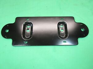 Original License Plate Bracket & Lamp Mount MGB MG Midget 1975-80 - Excellent