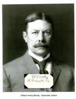 William H Moody Autograph Associate Justice Secretary Navy Attorney General