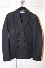 Shades of Grey by Micah Cohen Wool Blend Slim Fit Charcoal Grey Blazer Excellent