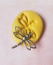 Dragonfly silicone mold fondant  mold resin polymer clay insect mold