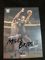 "Miles Bridges 2018/19 Chronicles ""Luminance"" RC Charlotte Hornets Rookie Card"