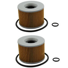 2pcs Oil Filter for KAWASAKI EL250 GPX250R GPZ1100 GT550 KZ1000K KZ400H Z400 Z1F