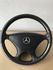 Mercedes Carbon&Leather Steering Wheel R120 W202 R171 Slk Amg