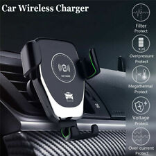 Qi Holder Mount Wireless Charger Car Fast Wireless Charging For Phone Auto Clamp