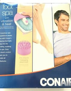 Conair Foot Spa w/Vibration and Heat in box. Model FB3~ Free Shipping!!!!!!!!!!