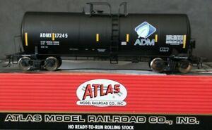 ATLAS 17,600 GALLON TANK CAR *ADM-LEAF* ADMX 17245