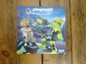 Playmobil Top Agents DVD - U Rating - Brand New & Sealed