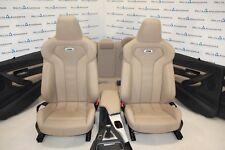 BMW F80 M3 RHD Leather Seats SportSitze Lederausstattung Merino Sonoma Beige