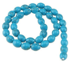 BD1403 8 Turquoise Howlite Beads Elephant Shape 22mm x 16mm Gemstone