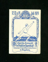 Germany Stamps very rare sports label 1924