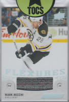 Mark Recchi 2018-19 Engrained Flextures Game Used Stick Card Boston Bruins