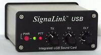 SignaLink USB SLUSBRJ4 for 8-pin RJ-45 Mic Jack - Open Box *Full Warranty*