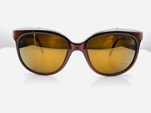 Vintage Bolle Irex 100 Brown  Nylon Oval Sunglasses FRAMES ONLY France