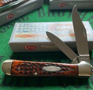 case xx 3 dot 1977 copperhead knife great rich bright bone handles unused nib