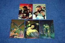 CONAN TRADING CARDS LOT OF 5 DIFFERENT CHROMIUM PROMOS (SALE #92614)