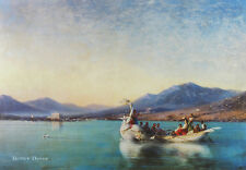 """24"""" PRINT Wedding in Ancient Greece,1886 by Aivazovsky ANTIQUE SEASCAPE ART"""