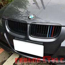 ///M-color Paino Black BMW E90/E91 4DR Sedan Front Grills 05-08 318d 320d