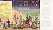 The Children's Story Bible by Harold Begbie,Grolier Society, 1948 First Ed w/ DJ