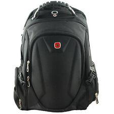 Black Swissgear Backpack Waterproof Rucksack 15'' Laptop Bag Daypack Schoolbag