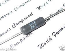 2pcs - DALE RS-5 0.2R (0R2) 5W 1% HI-END MIL-R-26 Audio Precision Resistor