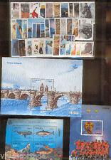 Spagna 2013 francobolli nuovi anno completo 49 Francobolli,18 hojicas y un