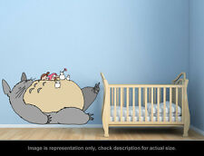 Ghibli Totoro - Sleeping Totoro and Mei Wall Art Applique Sticker