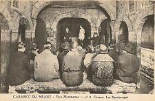 CARTE POSTALE PARIS MONTMARTRE CABARET DU NEANT CAVEAU LES SPECTRES GAIS