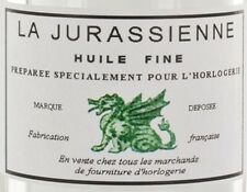 Huile Fine La Jurassienne 100 ml pour horloge, pendule, comtoise Fine Oil clock