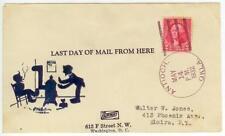 May 14, 1932 Antioch Oklahoma Last Day Post Office