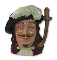 Royal Doulton - Porthos - Large Character Jug - D6440 - Made in England.